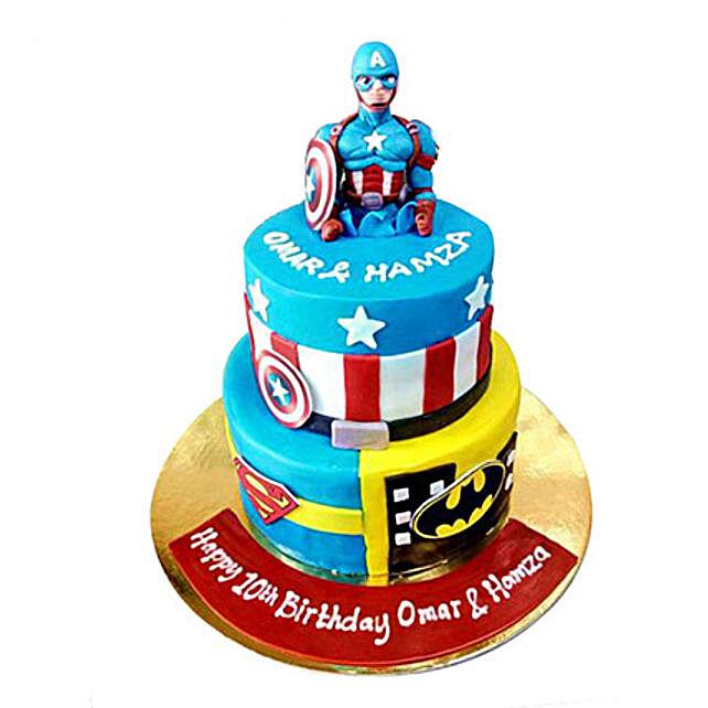 Hero Cake: Cartoon Cakes to UAE
