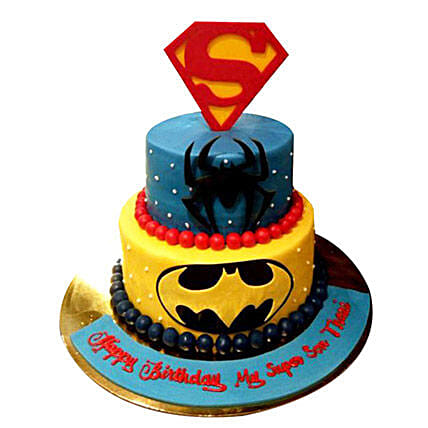 Heroes together Cake: