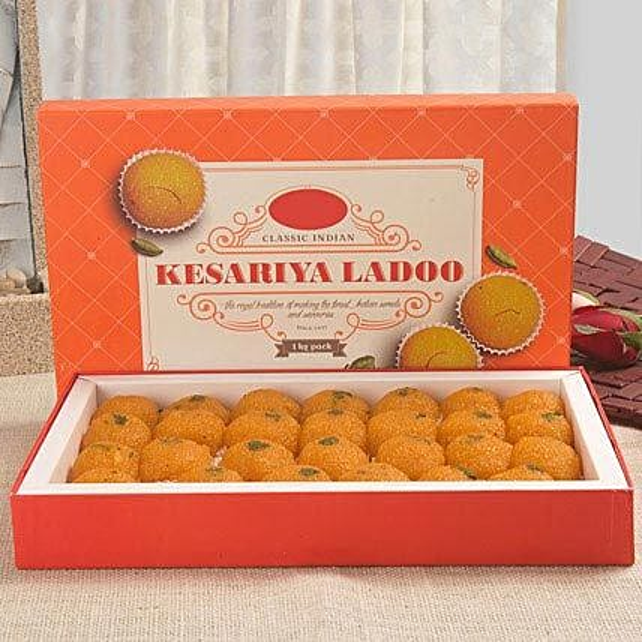 Lip Smacking Motichoor Laddoo: Send Sweets to UAE