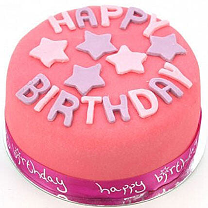 Happy Birthday Pink Cake Gifts Delivery In UK