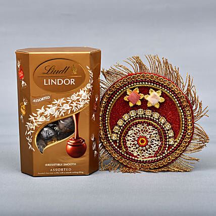 Lindt And Puja Thali Combo: Send Bhai Dooj Gifts to UK