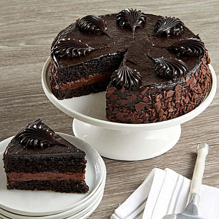Chocolate Mousse Torte Cake Birthday Gifts To USA