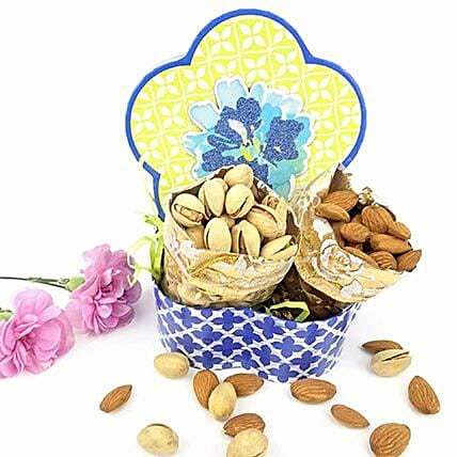 Pista N Almond Love Combo: Karwa Chauth Sargi to USA