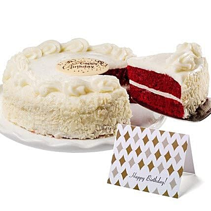 Red Velvet Chocolate Cake: Valentine's Day Gift Delivery in USA