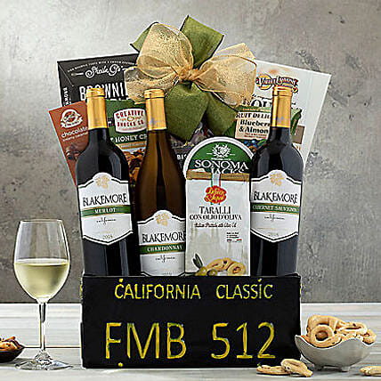 California Classic Gift Basket: Corporate Gifts USA
