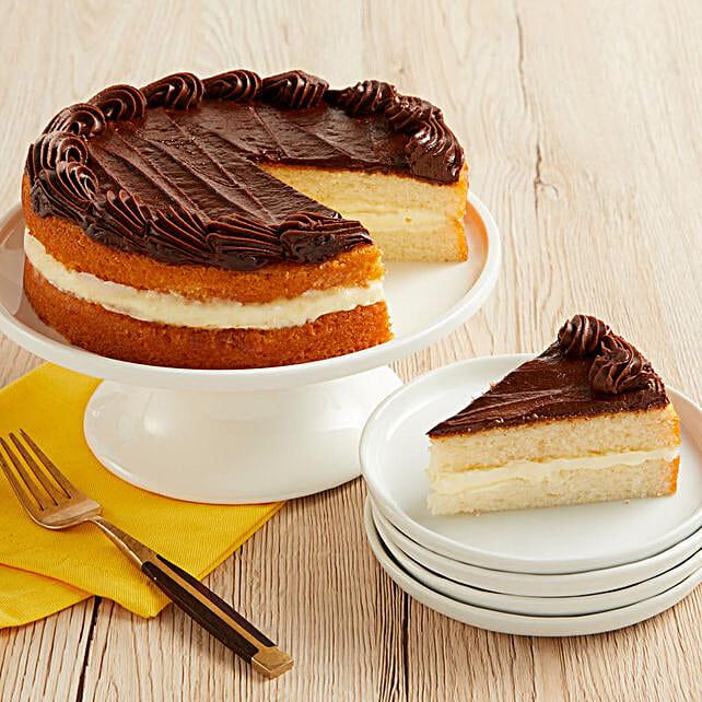 Boston Cream Cake: Send Cake to USA