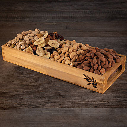 Dry Fruits Platter: Birthday Gifts to USA