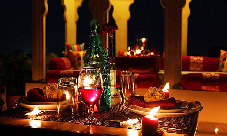 Valentine's Day Dinner Under the Starlight