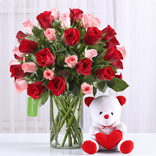 39875f2b469f Flowers N Teddy Bear Online