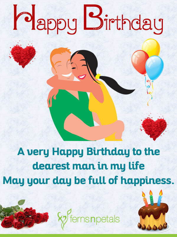 30+ Happy Birthday Wishes for Husband | Birthday Quotes N ...