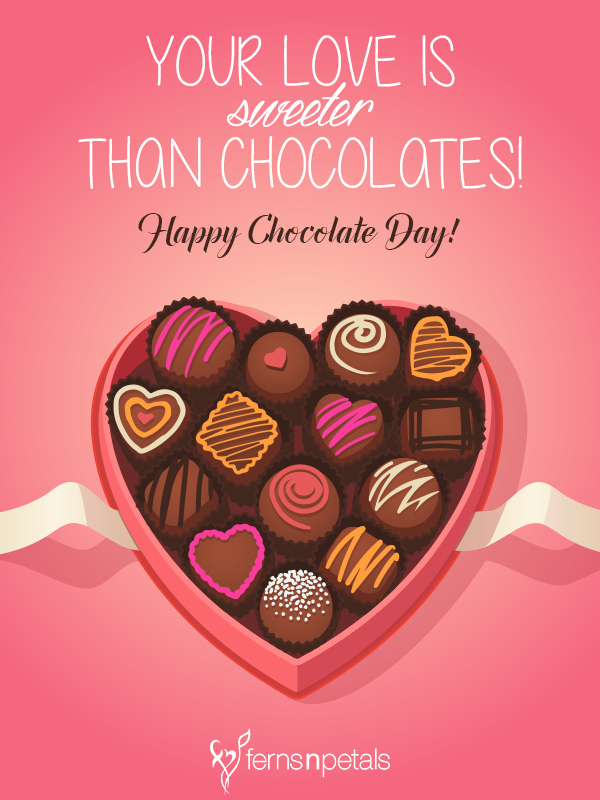 Happy Chocolate Day Quotes | Chocolate Day Messages and