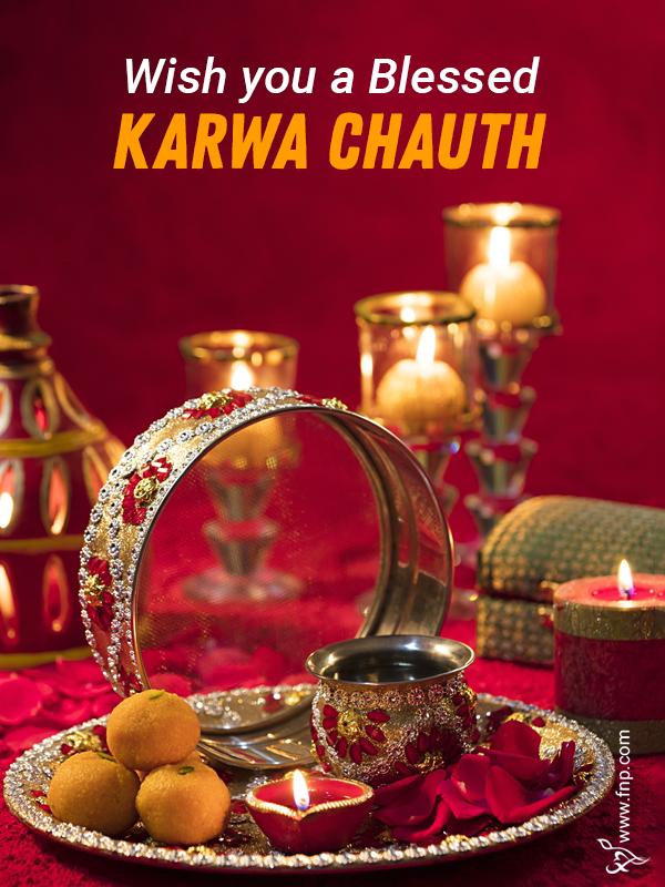 wishing karwa chauth