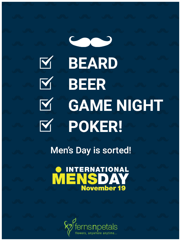 Mens day Image