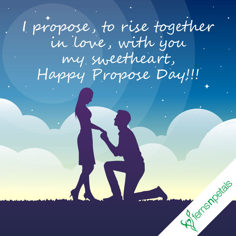 Romantic Propose Day Messages