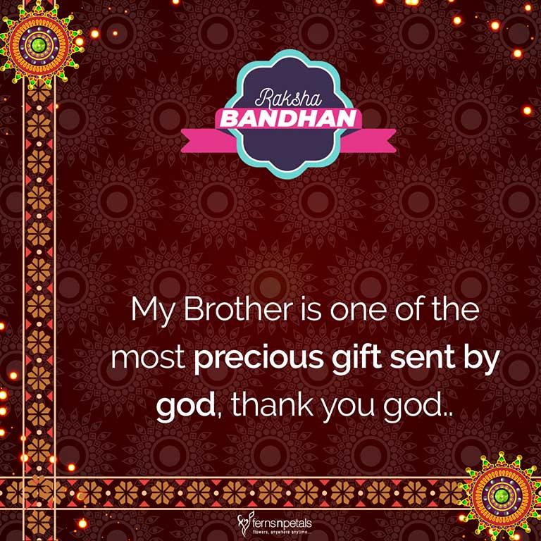 50+ Happy Raksha Bandhan/Rakhi Quotes, Wishes, Status For
