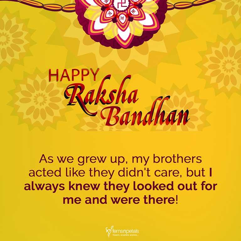 rakhi wishes for elder brother