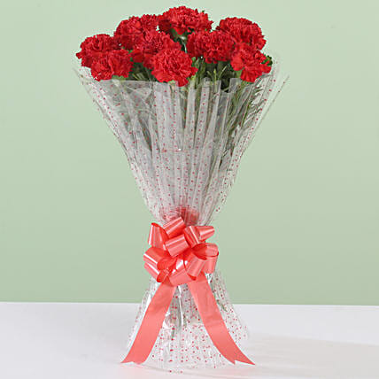 Online Bouquet Of Carnation Flower