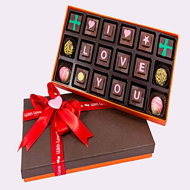 Personalised Chocolate box