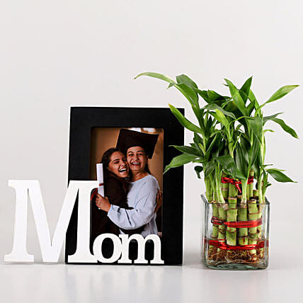 online plant with personalised frame