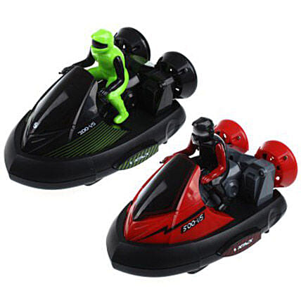 Set of 2 RC Bumper Cars