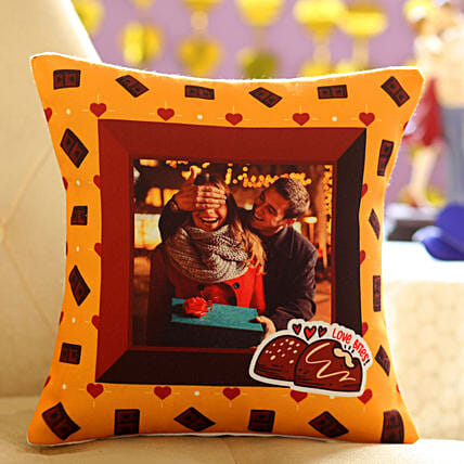 Adorable Personalised Cushion for Your Lover