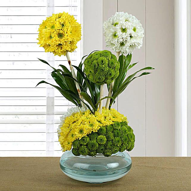 Mixed Flower Arrangement
