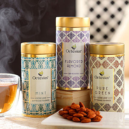 Online Almond and Tea Hamper