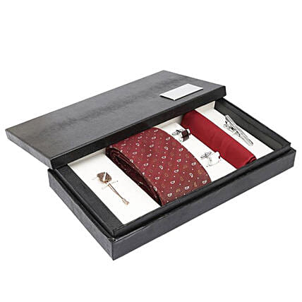 Matching Men's Suit Accessories Gift Set