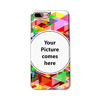 Apple iPhone 7 Plus Multicolor Personalised Phone Cover