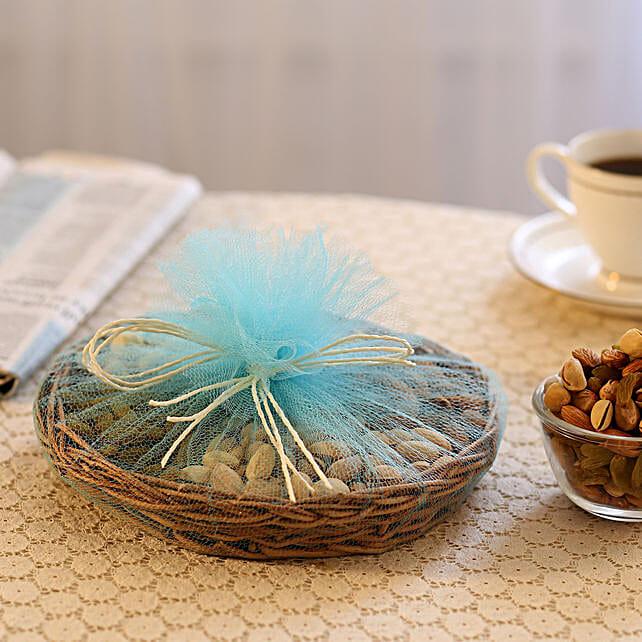 Basket of dry fruits