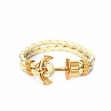 Anchor Braided Bracelet For Girls