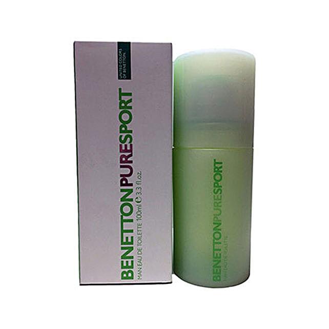 Benetton Pure Sport Perfume For Men