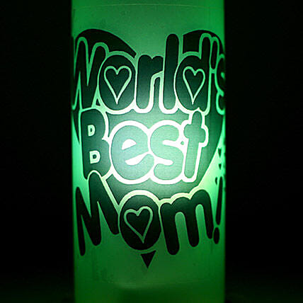 Best Mom Lamp-1 green coloured worlds best mom lamp