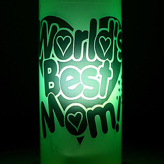 Best Mom Lamp-1 green coloured worlds best mom lamp