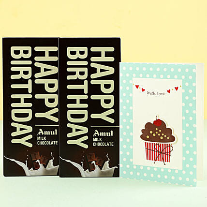 Online Birthday Greetings and  Chocolate