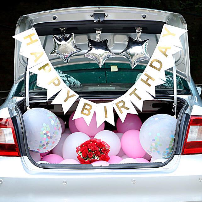 Car Deck Decoration for Birthday