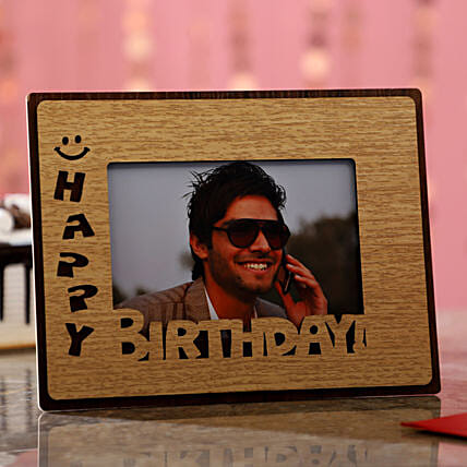 Birthday Wishes For Him Photo Frame