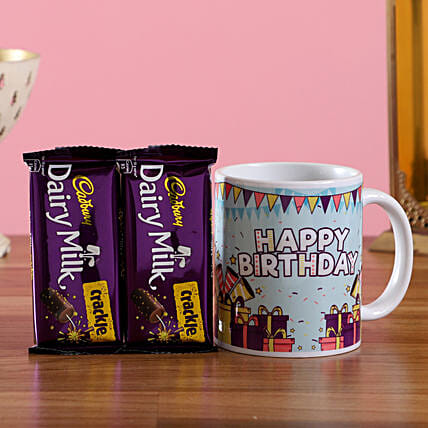 Personalised Birthday Mug and Chocolate Online