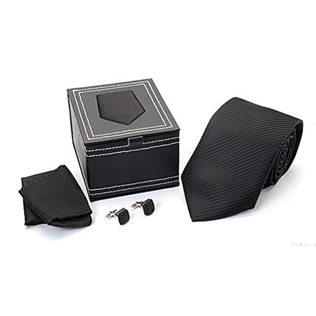 Combo Black Tie Set