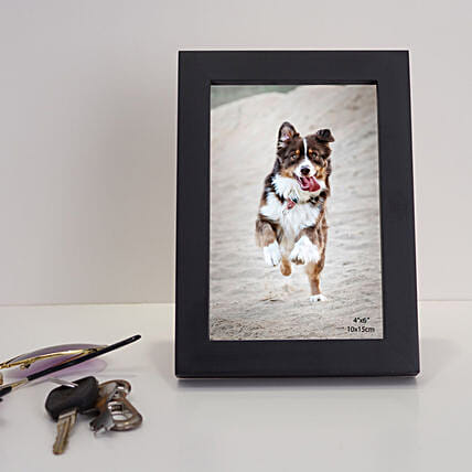 wooden photo frame for him