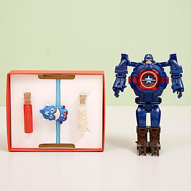 Superhero Rakhi Toy for Kids