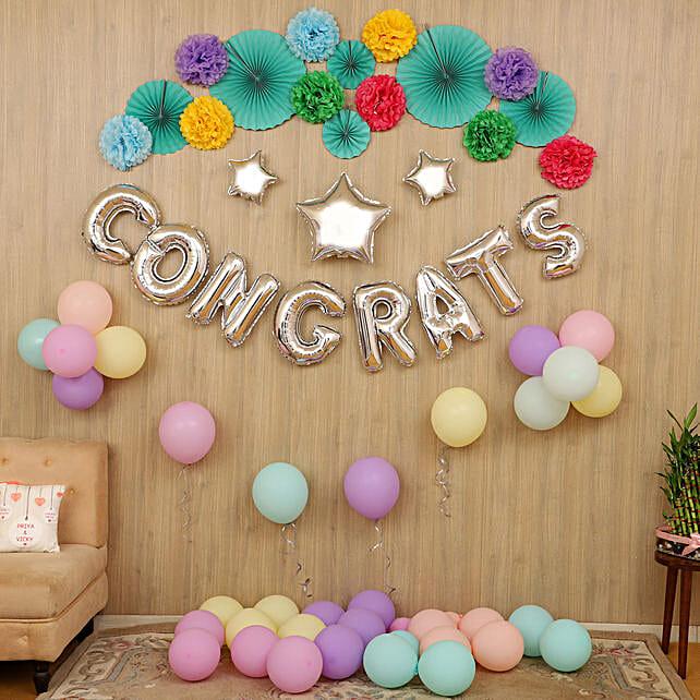 success party balloon decoration service online