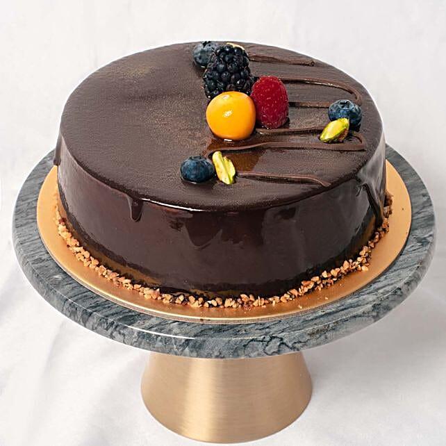 Chocolate Cakes Half kg Eggleess