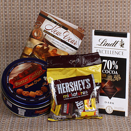 Exclusive Chocolate Hamper For New Year