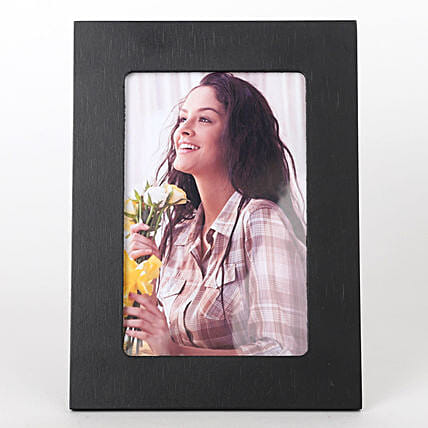 attractive black photo frame for her