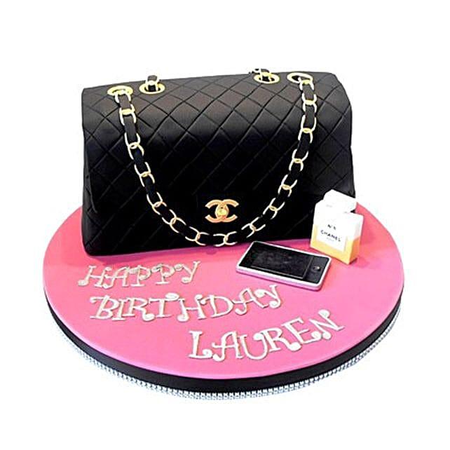Classy Chanel Cake 2kg