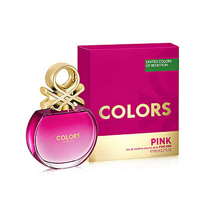 Colourful Benetton Perfume For Her