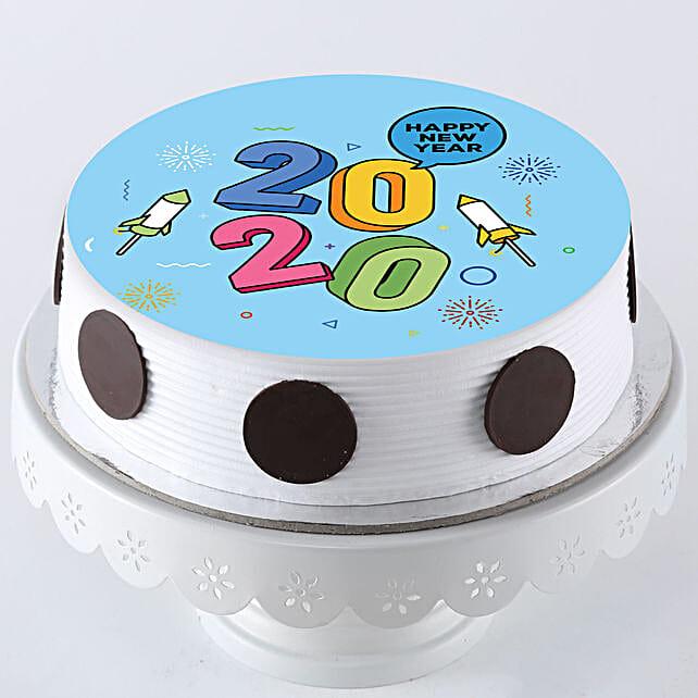 new year photo cake online