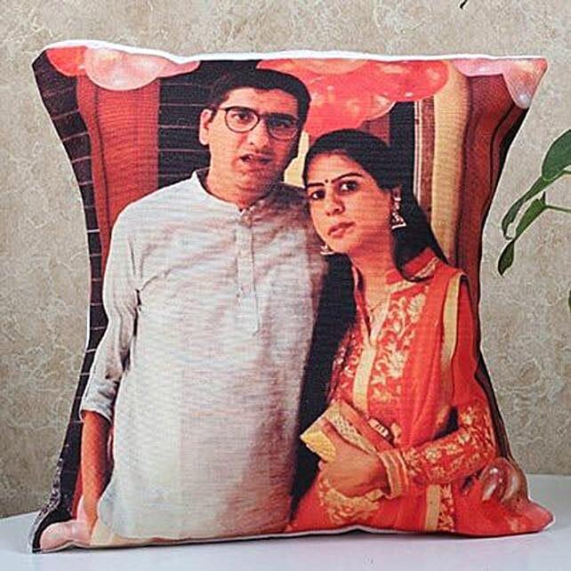 couple photo printed cushion online