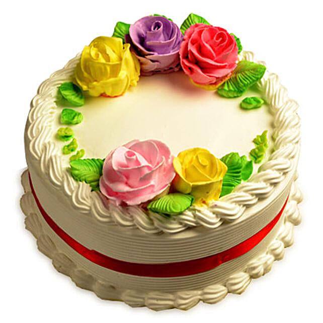 Creamy French Vanilla Cake Half kg